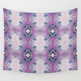 Arabidopsis flower stem microscopy pattern pink Wall Tapestry