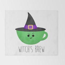Witch's Brew Throw Blanket