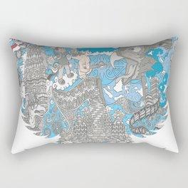Indonesia-Garuda Rectangular Pillow