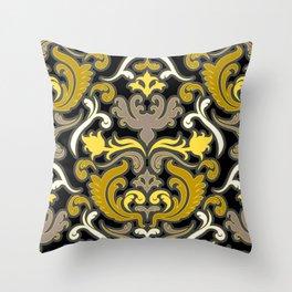 Bon Apart Yellow Throw Pillow