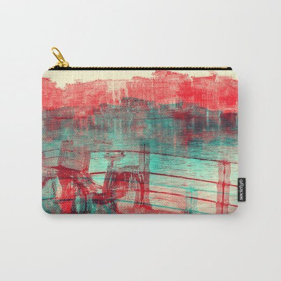One Bicycle Carry-All Pouch