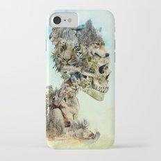 Nature Skull iPhone 7 Slim Case