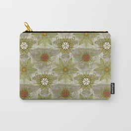 Vintage English Garden Pattern Carry-All Pouch
