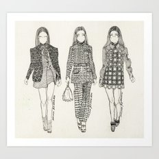 Miu Miu fall 2012 RTW Art Print