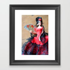 Flamenco doll  Framed Art Print