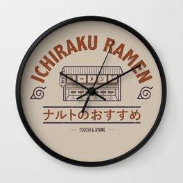 Ichiraku Ramen Japanese Wall Clock
