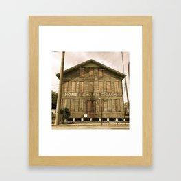 Historic Ybor Building Framed Art Print