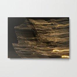 Light Threading Metal Print
