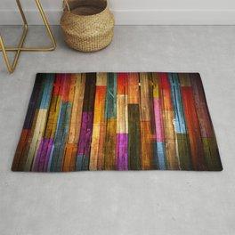 Wood Texture 640 Rug