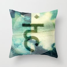 A special offering from 'Mudras: Simple Daily Use' - Hanuman Devotion Throw Pillow