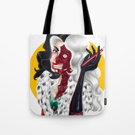 Two Face Deville Tote Bag