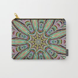 Stained Glass Window - Mandala Art Carry-All Pouch