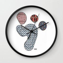 Baby Footprint Wall Clock