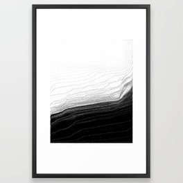 Feels Framed Art Print