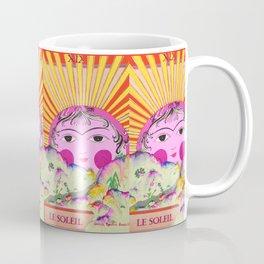 Tarot card-The Sun-Le soleil Coffee Mug