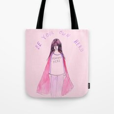 Feminist Hero Tote Bag