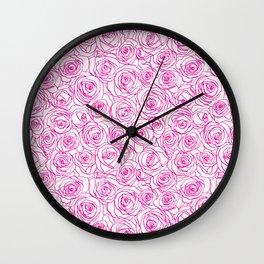 Rosanne Posies Wall Clock