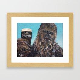 Brewbacca Framed Art Print