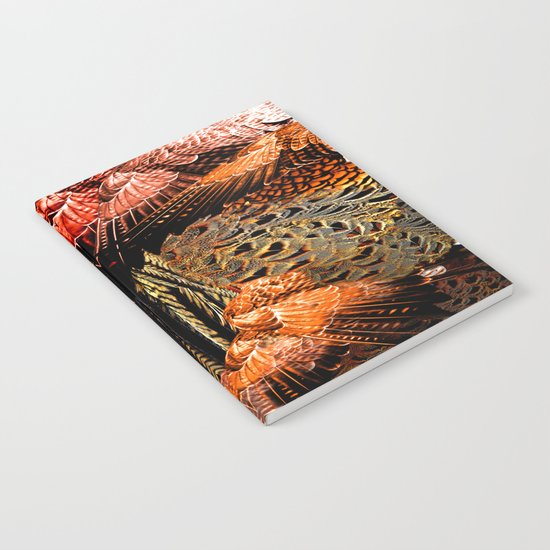 Butterfly Wings Pattern Notebook