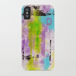 Abstract Life iPhone Case