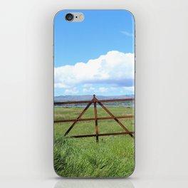 Rusty Gate Farm iPhone Skin