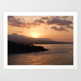Life in Amed Art Print