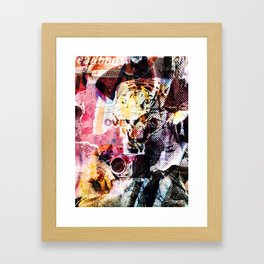 Flatiron Tiger Framed Art Print