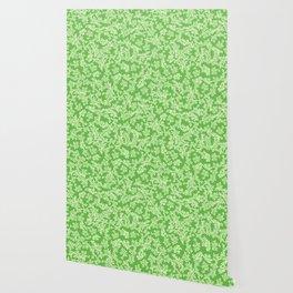 Florestan (Green) Wallpaper