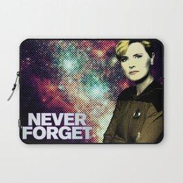 Never Forget Tasha Laptop Sleeve
