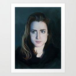 First Selfportrait 2014 Art Print