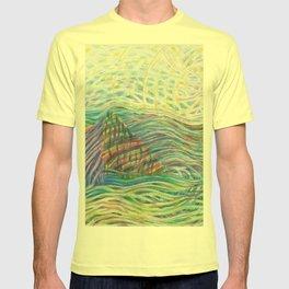 flowing mountain T-shirt