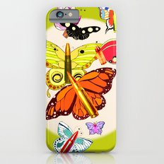 Bullet with Butterfly Wings iPhone 6s Slim Case