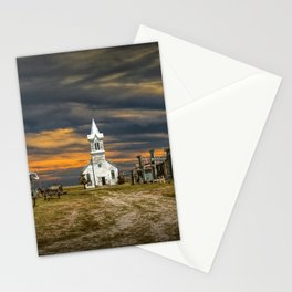 Western 1880 Town Stationery Cards