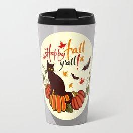 Happy fall y'all! Travel Mug