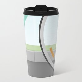 Elephants Can Ride Bicycles Too Travel Mug
