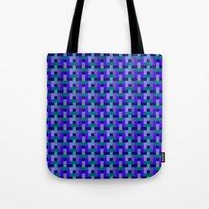 Woven Pixels II Tote Bag