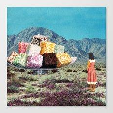 Desert Dessert Canvas Print