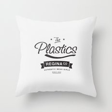 The Plastics - from the movie Mean Girls starring Lindsay Lohan Throw Pillow