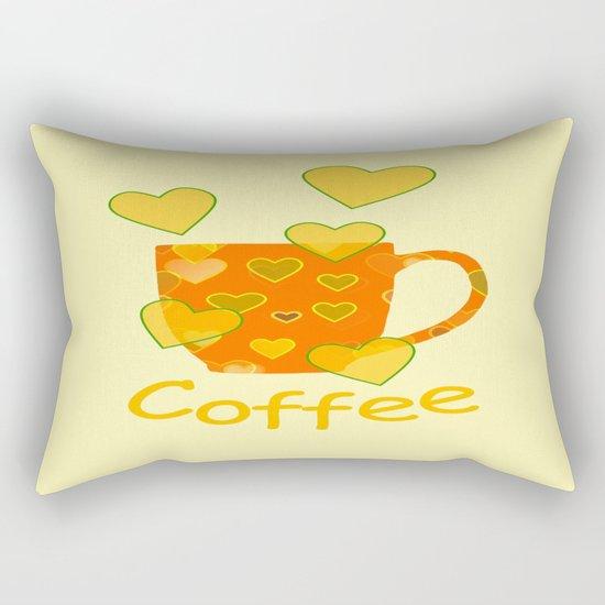 Coffee Fanatic Rectangular Pillow