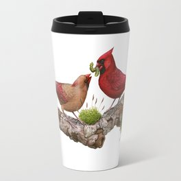 Northern  Cardinals Travel Mug