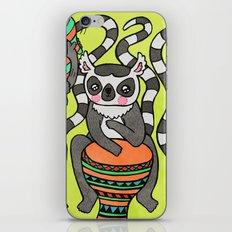 Dancing Lemurs iPhone & iPod Skin