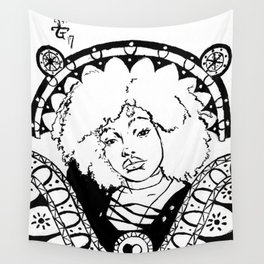 A Look in the Eyes Wall Tapestry