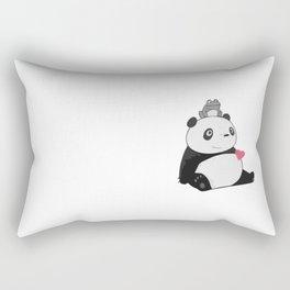 Panda 3 Rectangular Pillow