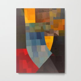 Otto Freundlich Komposition 1930 Mid Century Modern Abstract Colorful Geometric Painting Pattern Art Metal Print