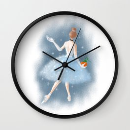 To the Ball Wall Clock