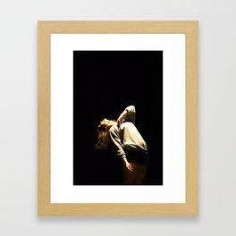 i surrrender... Framed Art Print