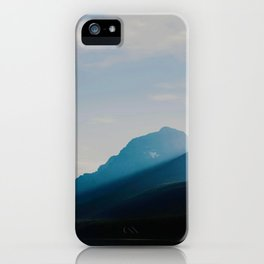 The Mountains int he Fog (Color) iPhone Case