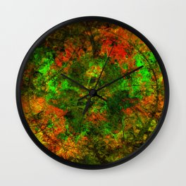 Spicy Gumbo Wall Clock