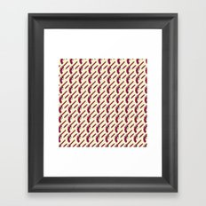 Organized crime Framed Art Print