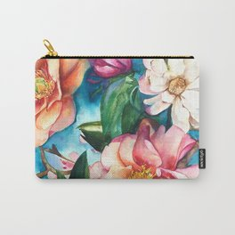 Tropical Floral I Carry-All Pouch